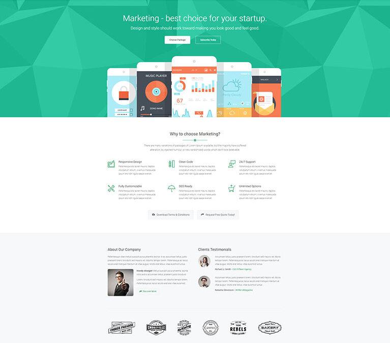 Flat – Website