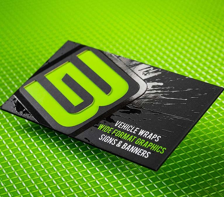 GB Vehicle Wraps – Business Card