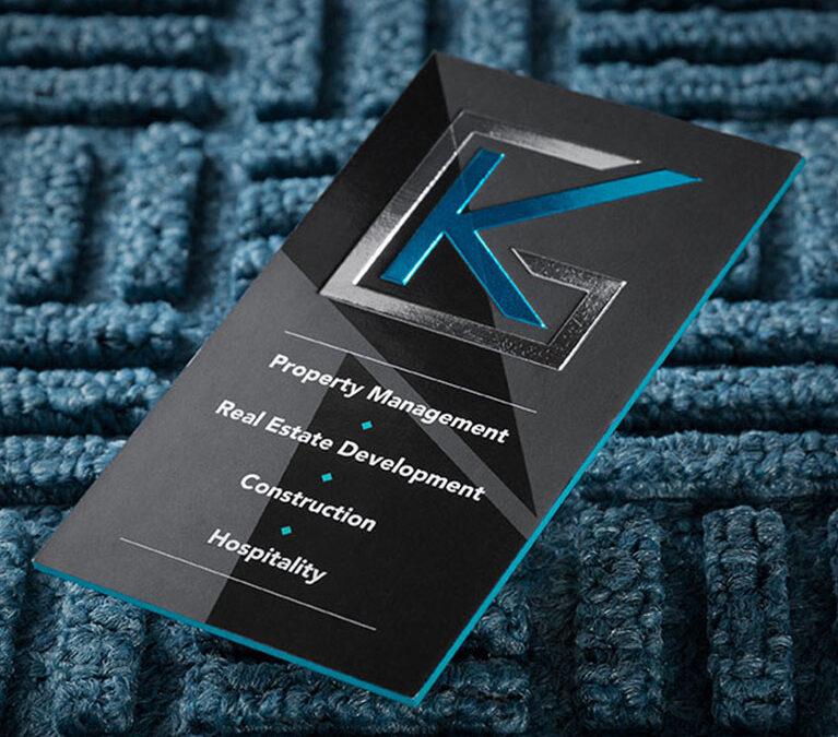 GK Real Estate – Business Card