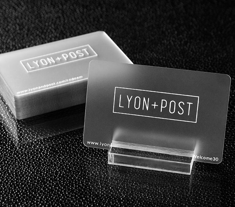 Lyon + Post – Business Card