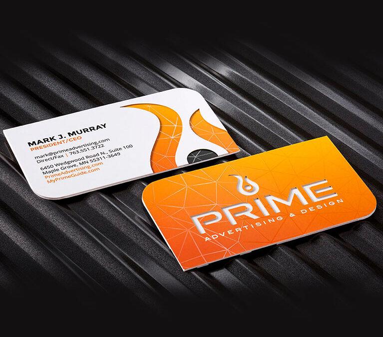 Prime Advertising & Design – Business Card