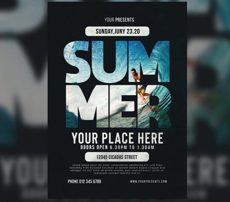 Summer – Flyer