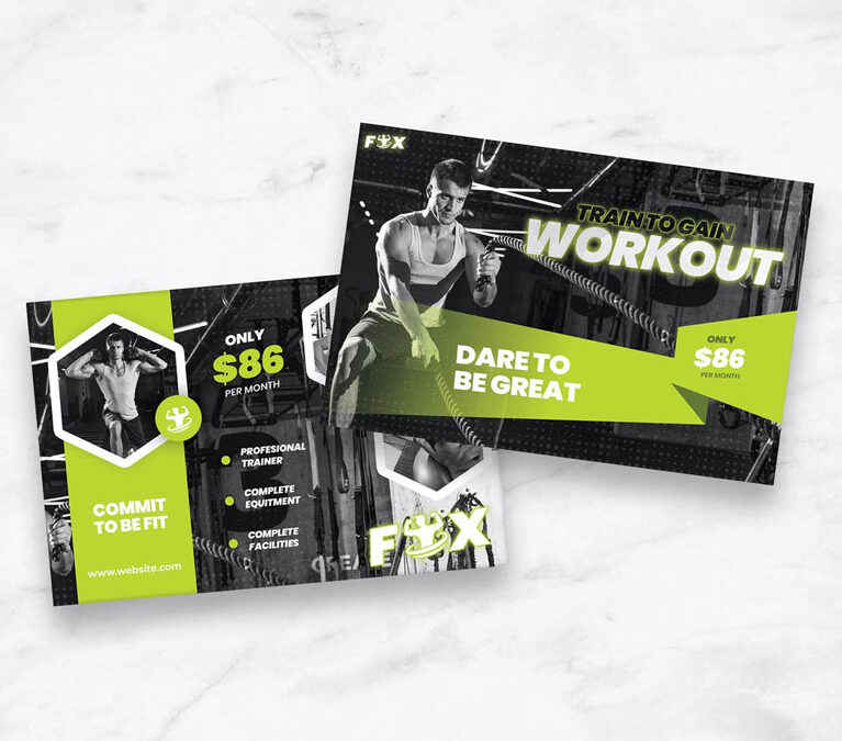 Workout – Post Card