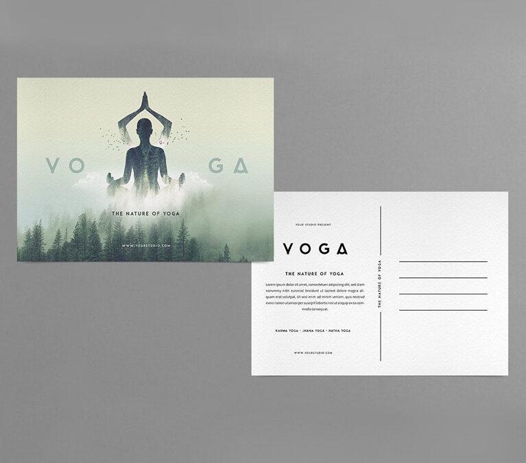 Yoga – Post Card